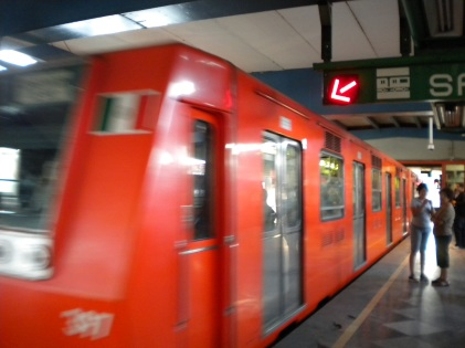 Mexico's City metro